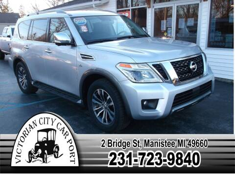 2020 Nissan Armada for sale at Victorian City Car Port INC in Manistee MI