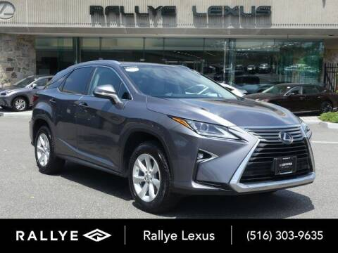 2016 Lexus RX 350 for sale at RALLYE LEXUS in Glen Cove NY