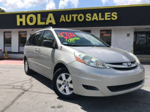 2006 Toyota Sienna for sale at HOLA AUTO SALES CHAMBLEE- BUY HERE PAY HERE - in Atlanta GA