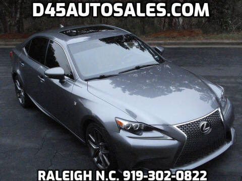 2014 Lexus IS 250 for sale at D45 Auto Brokers in Raleigh NC
