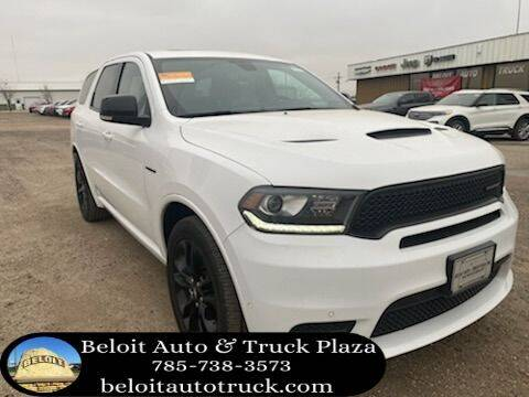 2020 Dodge Durango for sale at BELOIT AUTO & TRUCK PLAZA INC in Beloit KS