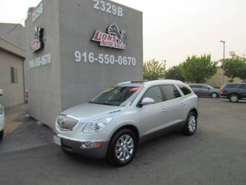 2011 Buick Enclave for sale at LIONS AUTO SALES in Sacramento CA