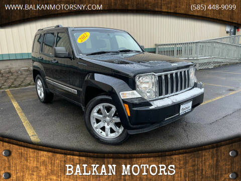 2012 Jeep Liberty for sale at BALKAN MOTORS in East Rochester NY