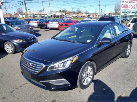 2016 Hyundai Sonata for sale at Wilson Investments LLC in Ewing NJ