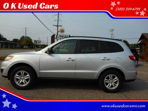 2011 Hyundai Santa Fe for sale at O K Used Cars in Sauk Rapids MN