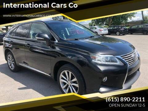 2013 Lexus RX 350 for sale at International Cars Co in Murfreesboro TN
