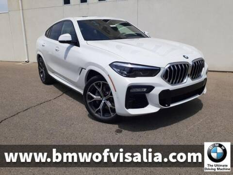2021 BMW X6 for sale at BMW OF VISALIA in Visalia CA