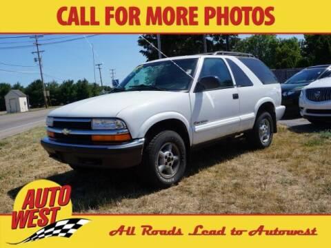 2000 Chevrolet Blazer for sale at Autowest of Plainwell in Plainwell MI