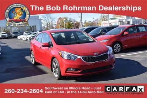 2016 Kia Forte for sale at BOB ROHRMAN FORT WAYNE TOYOTA in Fort Wayne IN
