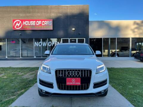 2011 Audi Q7 for sale at HOUSE OF CARS CT in Meriden CT