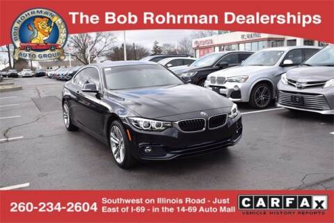 2018 BMW 4 Series for sale at BOB ROHRMAN FORT WAYNE TOYOTA in Fort Wayne IN