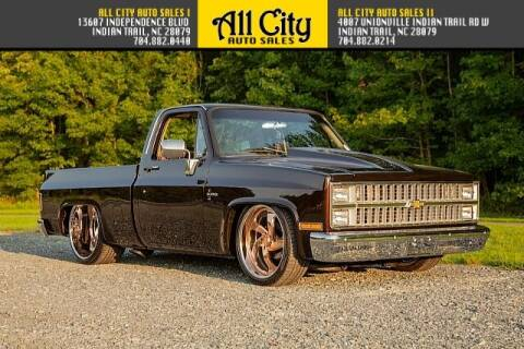 1982 Chevrolet C/K 10 Series for sale at All City Auto Sales in Indian Trail NC
