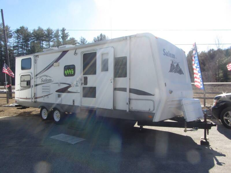 2006 Forest River 272BHSS for sale at Jons Route 114 Auto Sales in New Boston NH