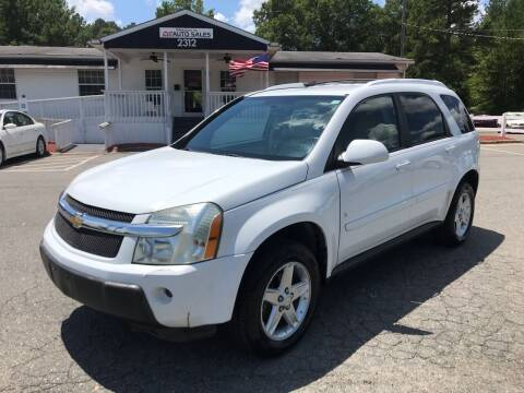 2006 Chevrolet Equinox for sale at CVC AUTO SALES in Durham NC