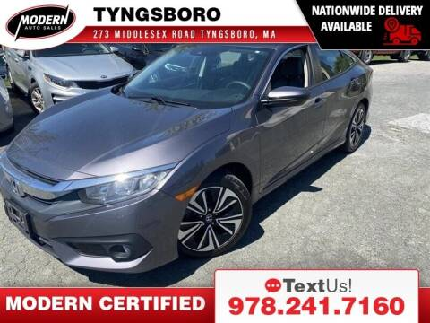 2016 Honda Civic for sale at Modern Auto Sales in Tyngsboro MA