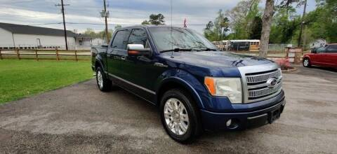 2009 Ford F-150 for sale at MG Autohaus in New Caney TX