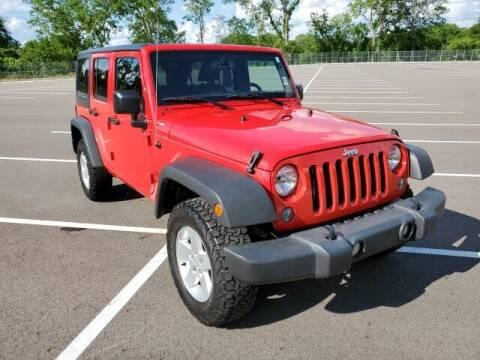 2017 Jeep Wrangler Unlimited for sale at CON ALVARO ¡TODOS CALIFICAN!™ in Columbia TN