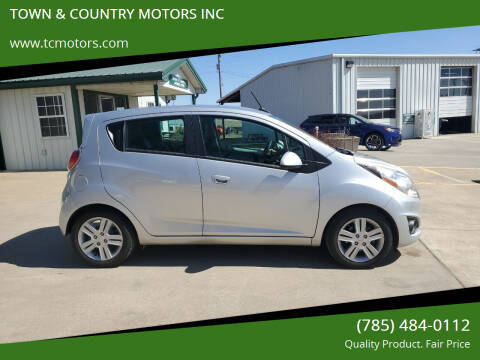 2014 Chevrolet Spark for sale at Town & Country Motors Inc. in Meriden KS