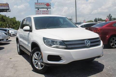 2013 Volkswagen Tiguan for sale at Mars auto trade llc in Kissimmee FL
