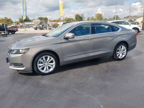 2017 Chevrolet Impala for sale at Big Boys Auto Sales in Russellville KY