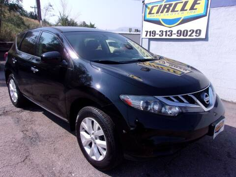 2011 Nissan Murano for sale at Circle Auto Center in Colorado Springs CO