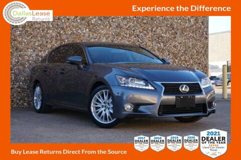 2013 Lexus GS 350 for sale at Dallas Auto Finance in Dallas TX
