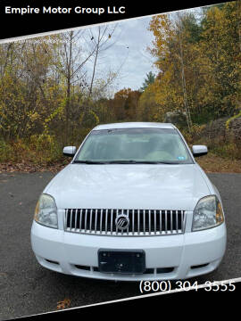 2006 Mercury Montego for sale at Empire Motor Group LLC in Plaistow NH