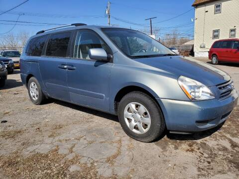2009 Kia Sedona for sale at T & R Adventure Auto in Buffalo NY