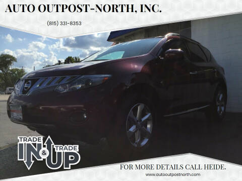2010 Nissan Murano for sale at Auto Outpost-North, Inc. in McHenry IL