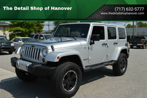 2012 Jeep Wrangler Unlimited for sale at The Detail Shop of Hanover in New Oxford PA