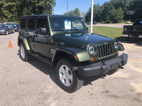 2007 Jeep Wrangler Unlimited for sale at Galaxy Auto Sale in Fuquay Varina NC