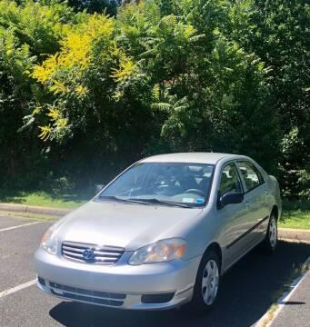 2004 Toyota Corolla for sale at ONE NATION AUTO SALE LLC in Fredericksburg VA