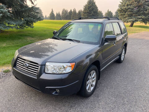 2008 Subaru Forester for sale at BELOW BOOK AUTO SALES in Idaho Falls ID