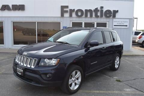 2017 Jeep Compass for sale at Frontier Motors Automotive, Inc. in Winner SD