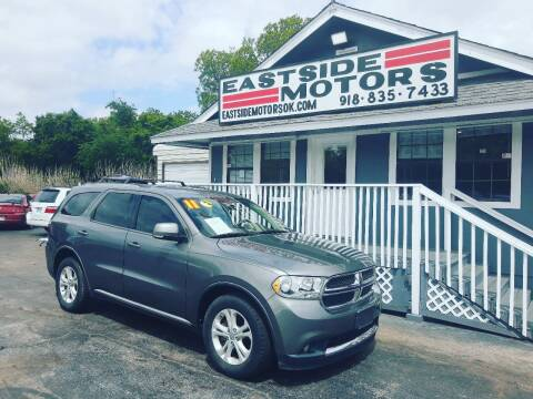 2011 Dodge Durango for sale at EASTSIDE MOTORS in Tulsa OK