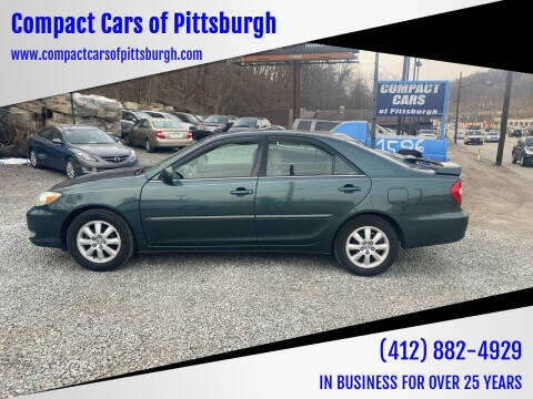 2003 Toyota Camry for sale at Compact Cars of Pittsburgh in Pittsburgh PA