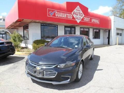 2018 Chevrolet Malibu for sale at Oak Park Auto Sales in Oak Park MI