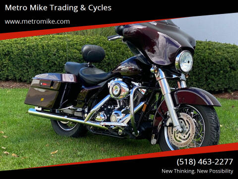 2007 Harley Davidson Street Glide for sale at Metro Mike Trading & Cycles in Albany NY