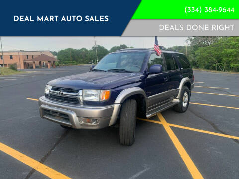 2002 Toyota 4Runner for sale at Deal Mart Auto Sales in Phenix City AL
