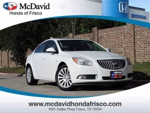 2011 Buick Regal for sale at DAVID McDAVID HONDA OF IRVING in Irving TX