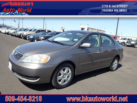 2007 Toyota Corolla for sale at Bruce Kirkham Auto World in Yakima WA