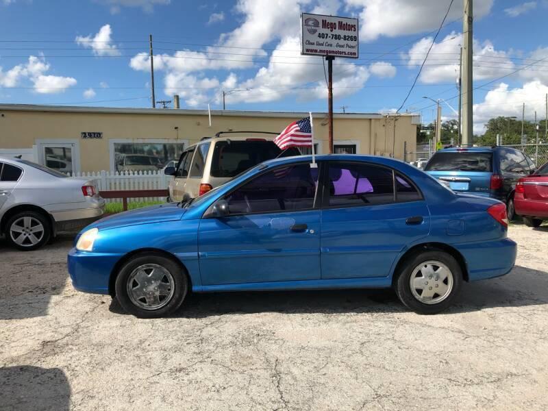 2005 Kia Rio for sale at Mego Motors in Orlando FL