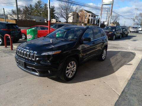 2014 Jeep Cherokee for sale at Rob's Tower Motors in Taneytown MD