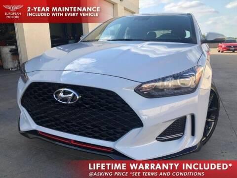2020 Hyundai Veloster for sale at European Motors Inc in Plano TX