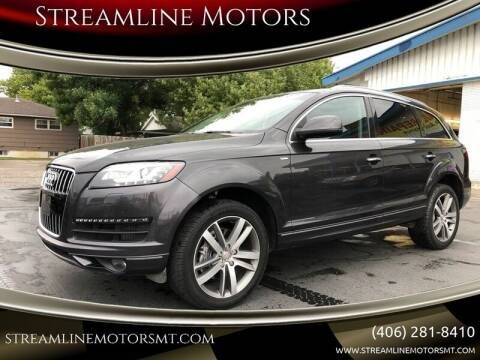 2012 Audi Q7 for sale at Streamline Motors in Billings MT