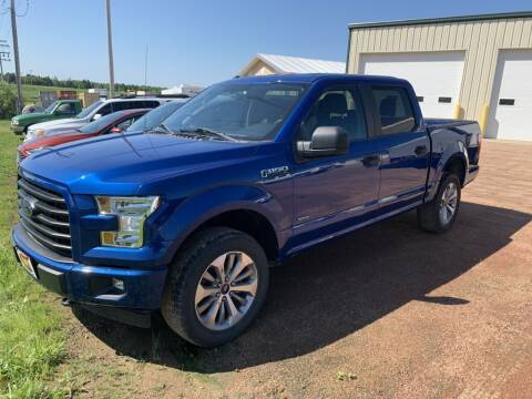 2017 Ford F-150 for sale at Yachs Auto Sales and Service in Ringle WI