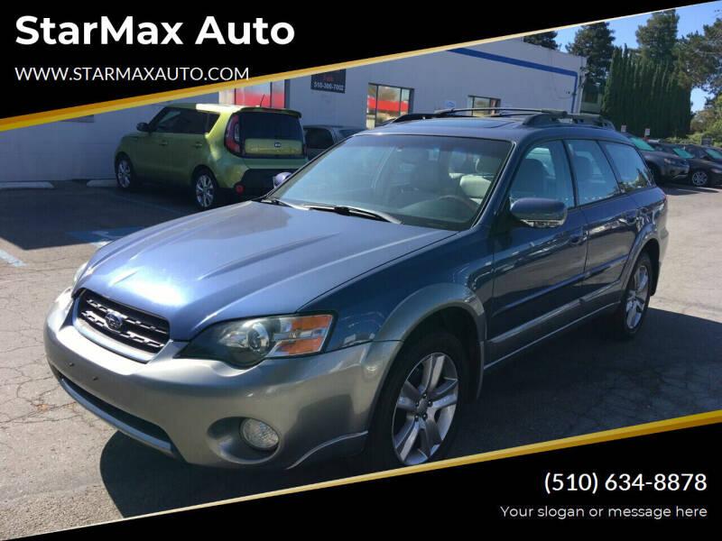 2005 Subaru Outback for sale at StarMax Auto in Fremont CA