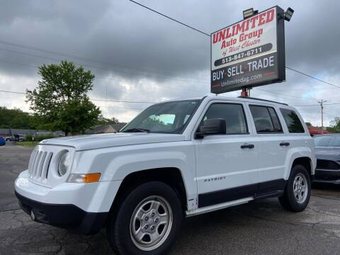 2015 Jeep Patriot for sale at Unlimited Auto Group in West Chester OH