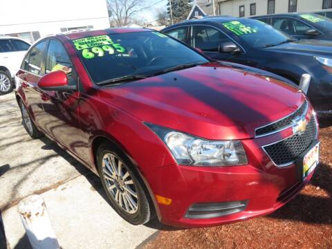 2011 Chevrolet Cruze for sale at Uno's Auto Sales in Milwaukee WI