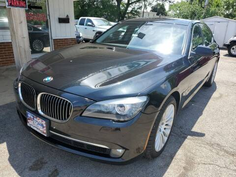2011 BMW 7 Series for sale at New Wheels in Glendale Heights IL